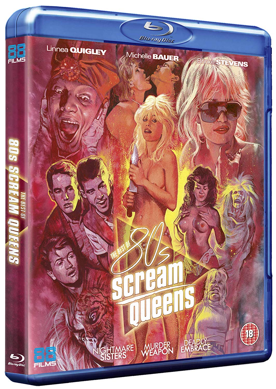 The Best of 80's Scream Queens UK Blu-Ray Collection