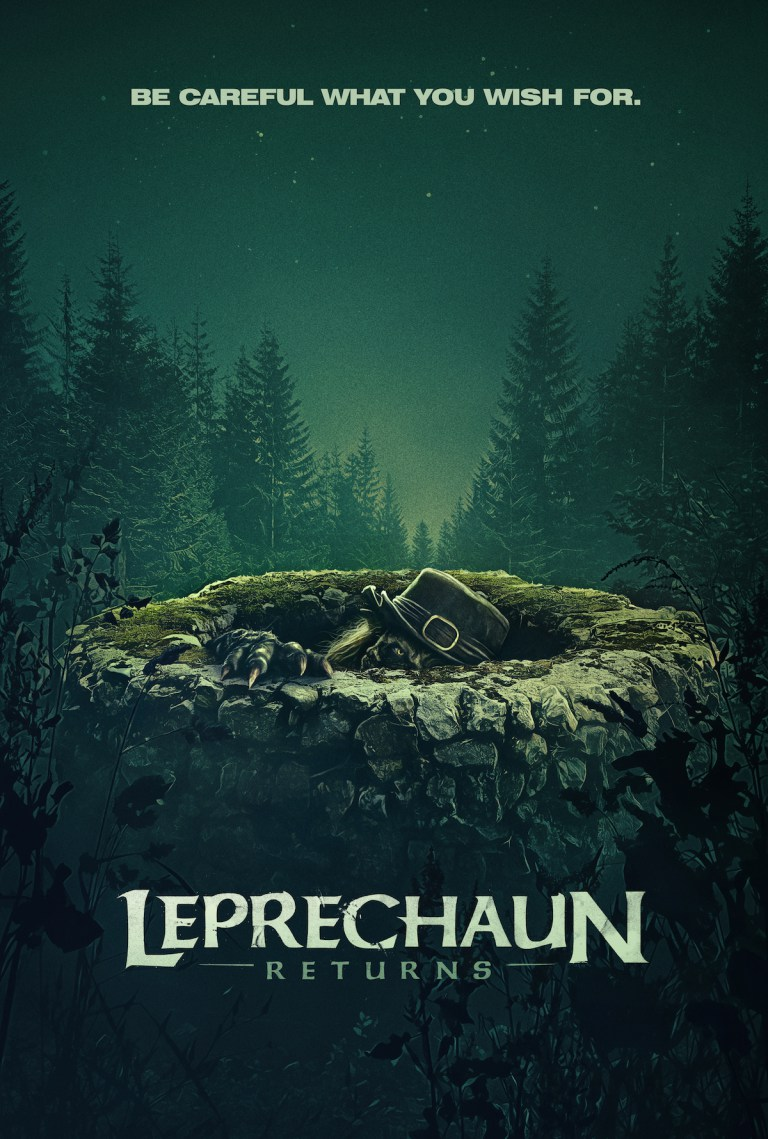 Leprechaun Returns Poster Art