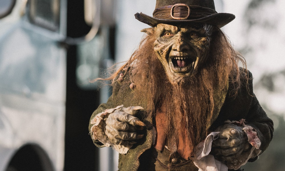 Linden Porco is On the Prowl in New 'Leprechaun Returns' Photo