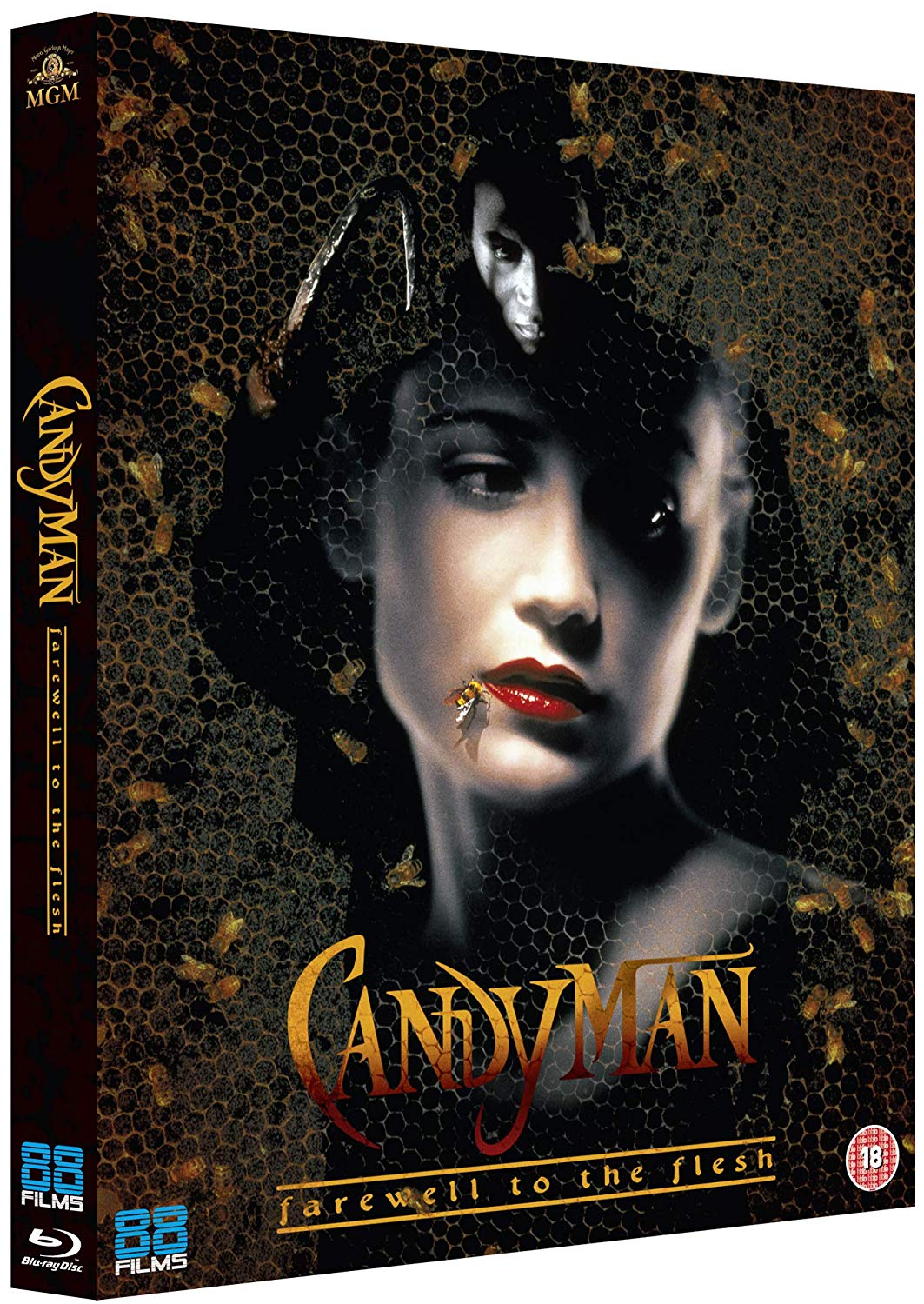Candyman Farewell to the Flesh UK Blu-Ray