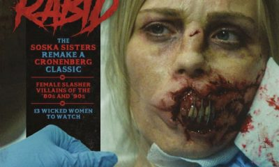 Savage 'Rabid' Imagery Makes the Front Cover of Rue Morgue