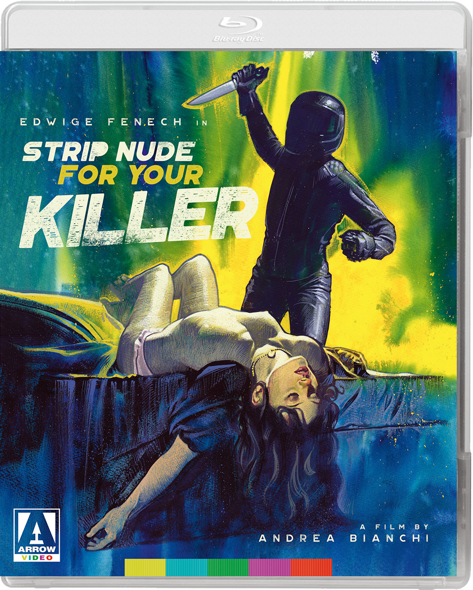 Strip Nude For Your Killer US Blu-Ray