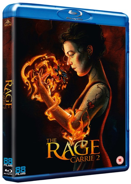 The Rage Carrie 2 UK Blu-Ray
