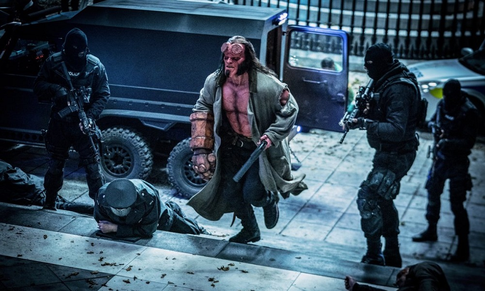 David Harbour is Armed and Dangerous in New 'Hellboy' Image