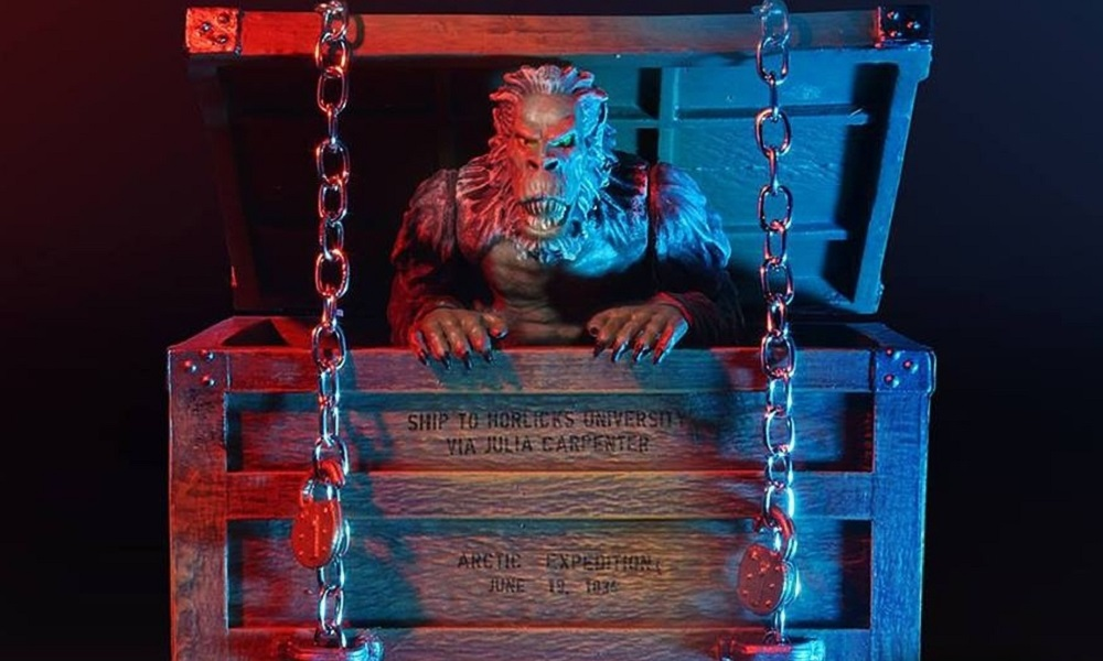 """Amok Time to Unleash New """"The Crate"""" Fluffy Beast Action Figure from 'Creepshow'"""