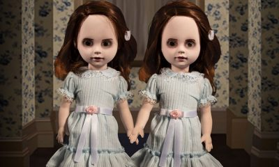 Mezco Toys Shares First Images for 'The Shining' Talking Grady Twins Living Dead Dolls