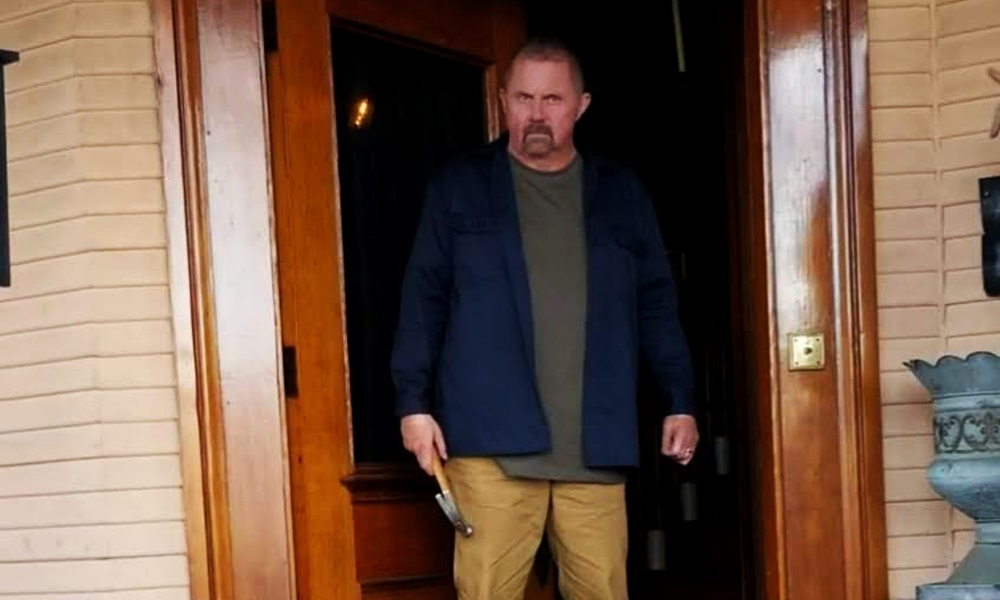 Kane Hodder is Back in New Horror Film 'Knifecorp' With Felissa Rose