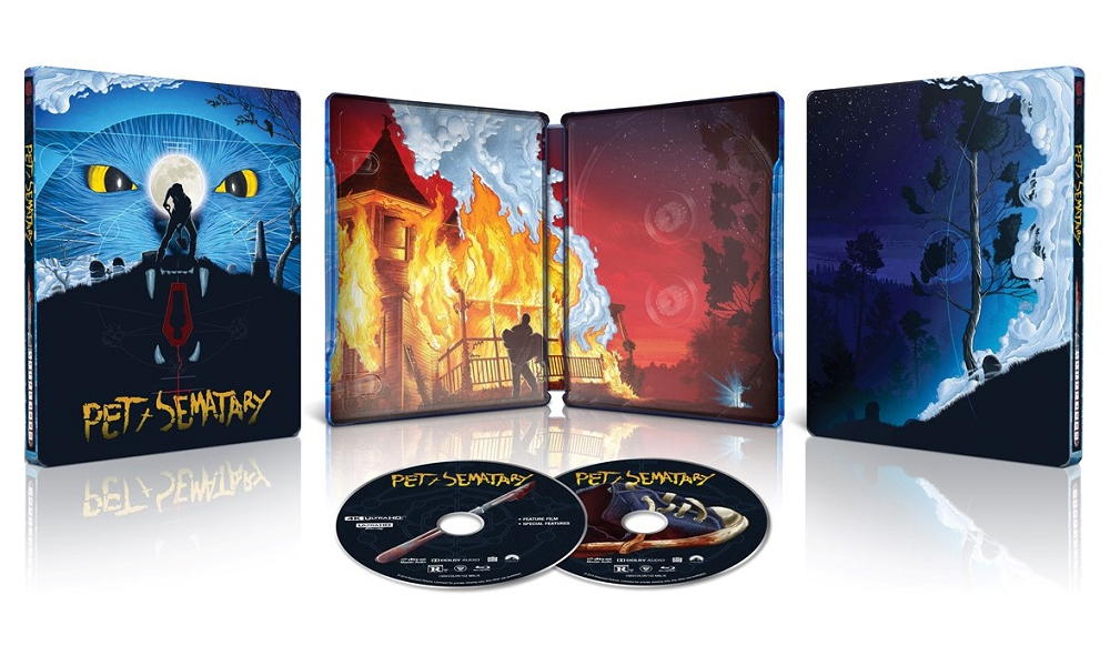 Pet Sematary Getting 30th Anniversary Limited Edition Steelbook 4K Ultra HD (UK) Blu-Ray
