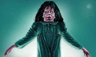 Grey Matter Presents Epic 'The Exorcist' Limited Edition Print by Artist Sara Deck