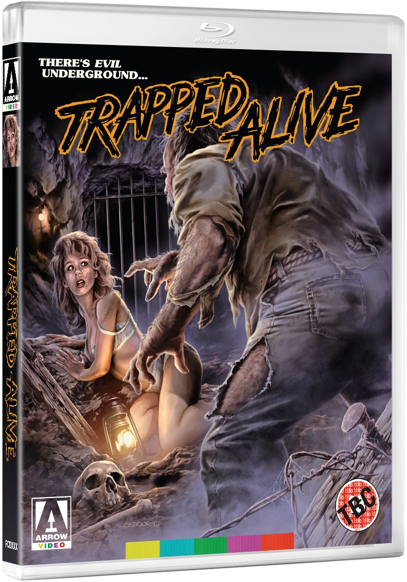 Trapped Alive UK Blu-Ray