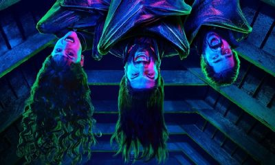 """What We Do in the Shadows"" TV Series Posters Feature Neon Style Lighting Effects"