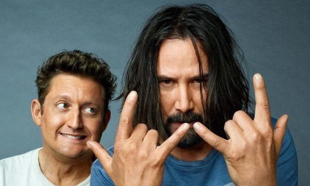 Keanu Reeves & Alex Winter Announces 'Bill & Ted 3: Face the Music' is Coming to Theaters This Summer!