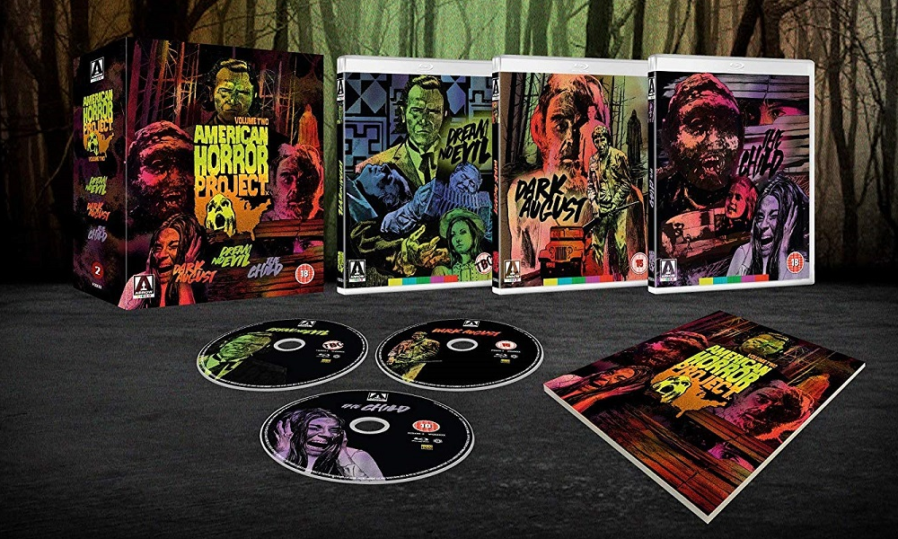 Arrow Video Announces 'American Horror Project Vol. 2' Limited Edition (UK) Blu-Ray Box Set