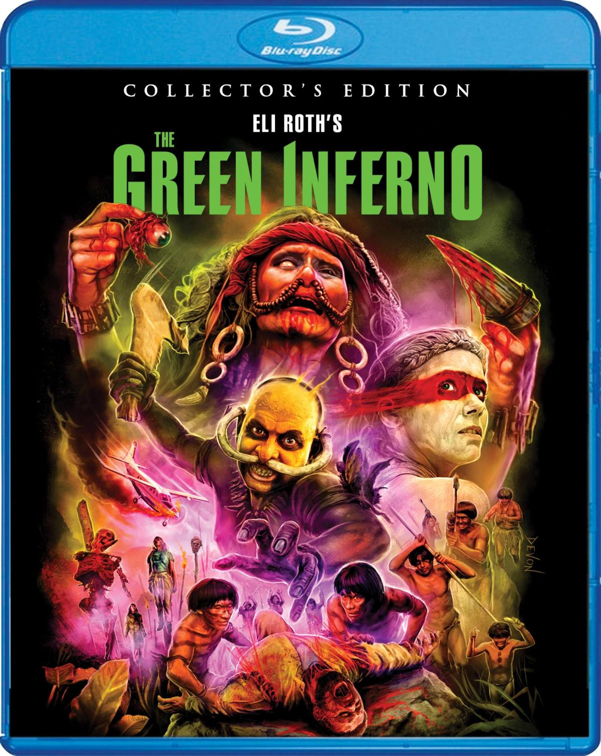 Green Inferno Scream Factory Blu-Ray
