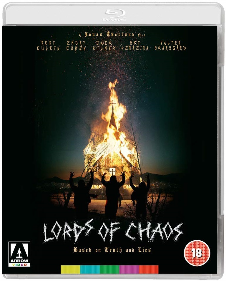 Lords Of Chaos UK Blu-Ray