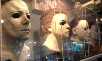 Sean Clark, Host of Horror's Hallowed Grounds, Reveals His Screen-Used 'Halloween' Masks