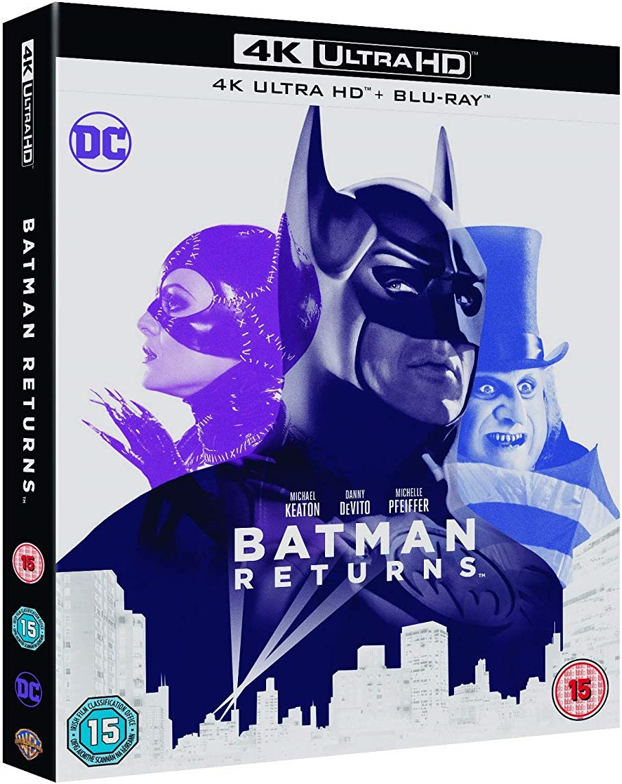 Batman Returns 4K Blu-Ray