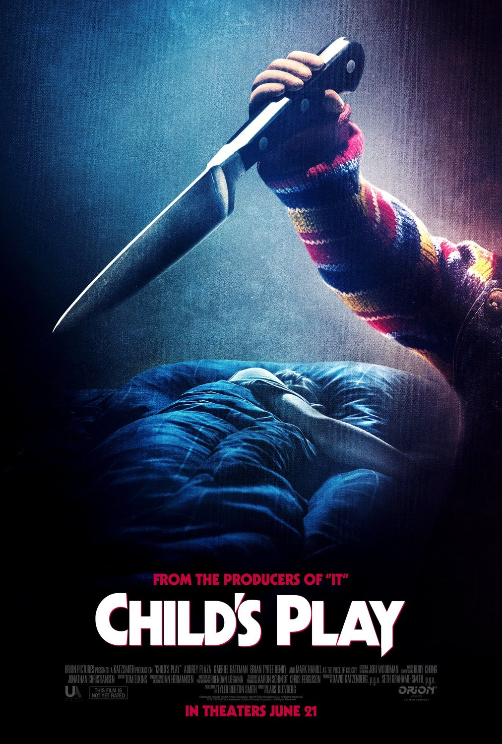 'Child's Play' Remake Poster Knife