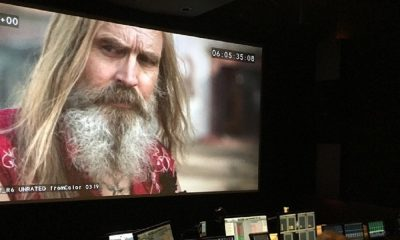 "Rob Zombie Teases New Photo of Otis from the ""Almost Finished"" 'Three From Hell'"