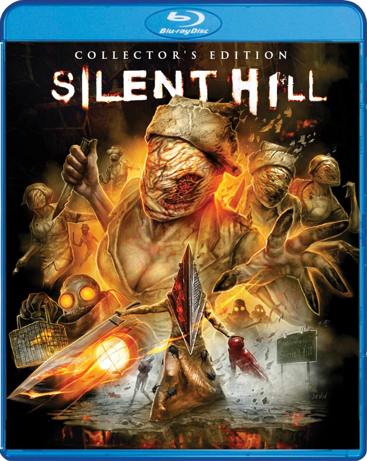 Silent Hill Scream Factory Blu-Ray