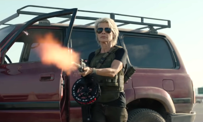 Linda Hamilton is Back and Ready to Battle New Machines in 'Terminator: Dark Fate' Trailer!