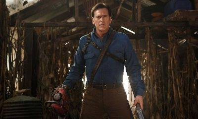 Barbara Crampton Appears Alongside Bruce Campbell In A Bloody 'Ash vs Evil Dead' Promo