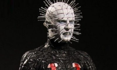 "First Look at Hellraiser III: Hell on Earth Pinhead 12"" Figure From Mezco"