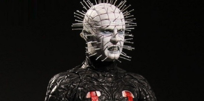 """First Look at Hellraiser III: Hell on Earth Pinhead 12"""" Figure From Mezco"""