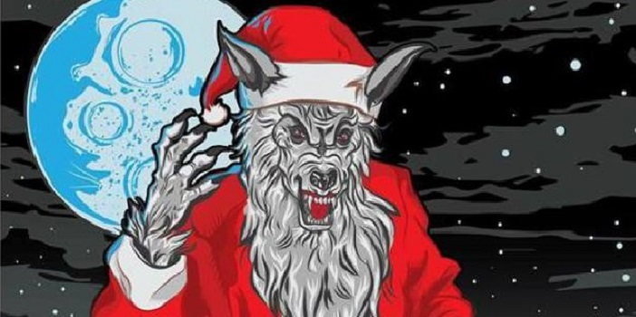 Werewolf Santa is Coming for You at Christmas in 2017