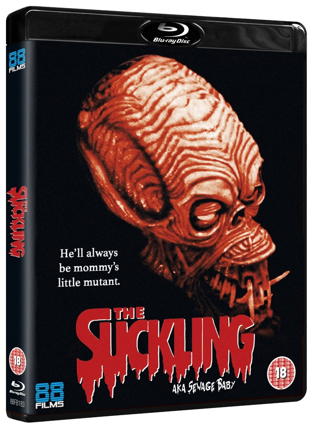 The Suckling 88 Films Blu-Ray