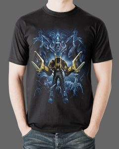 Aliens T-Shirt Fright Rags 1