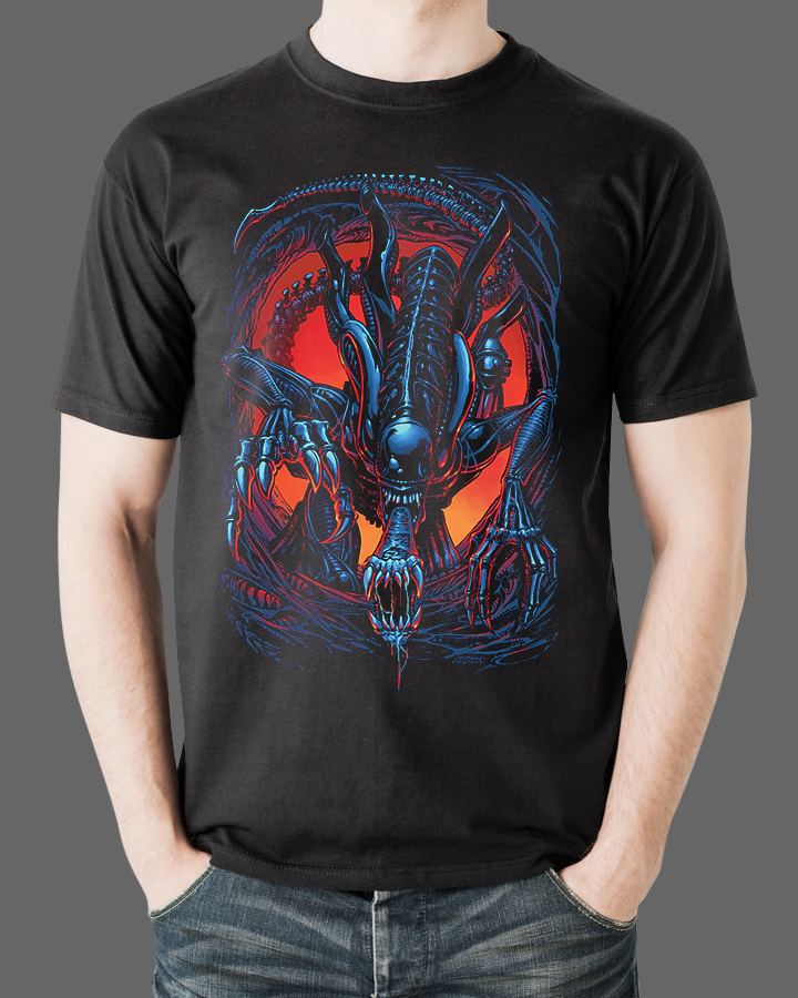 Aliens T-Shirt Fright Rags 3
