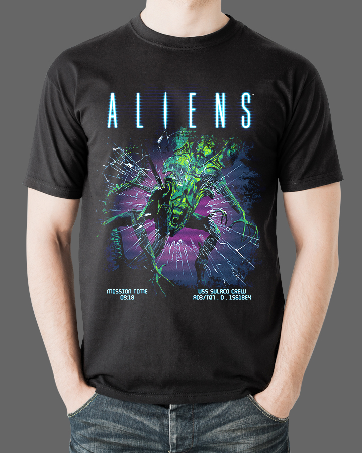 Aliens T-Shirt Fright Rags 5