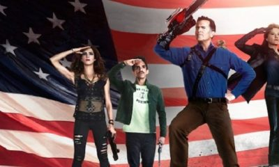 Things Get Very Patriotic In ''Ash Vs. Evil Dead'' Season 2 Promo Art