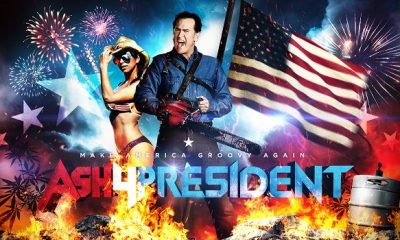 Ash For President! Starz New 'Ash vs. Evil Dead' Ad Campaigns Begin