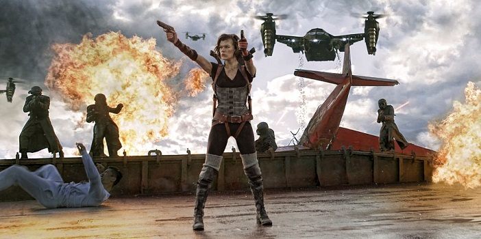 Sony Screen Gems Reveals A Poster For Resident Evil The Final