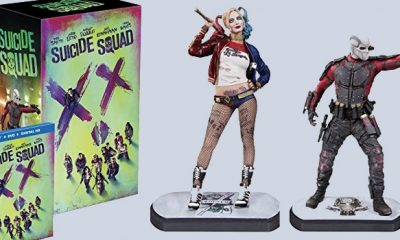 Limited Edition Suicide Squad Statues of Harley Quinn and Deadshot