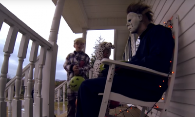 Dark Universe Halloween Season Begins: Michael Myers Scares Kids