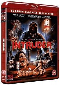 Intruder UK Blu-Ray