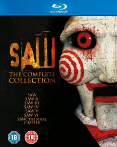Saw 1-7 Box Set UK Blu-Ray