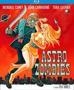 The Astro Zombies Blu-Ray