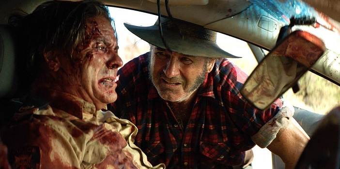 Wolf Creek 2 Mick Taylor Cop