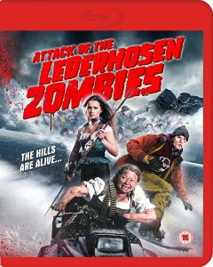 Attack of the Lederhosen Zombies Blu-Ray