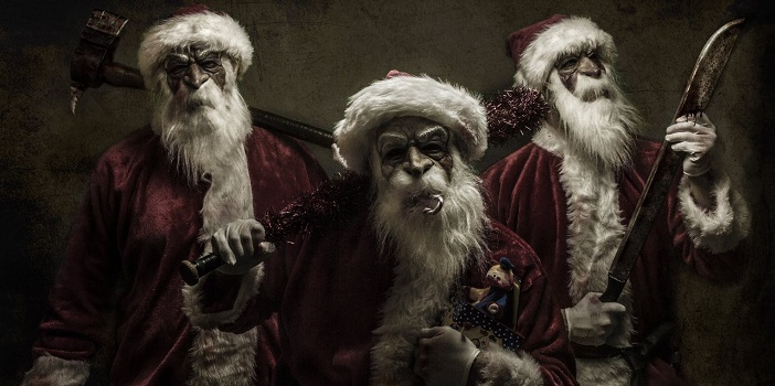 Santa to Spill Blood in Good Tidings Arriving December 6th