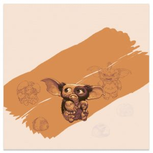 Gremlins LP Sleeve Gizmo Wet