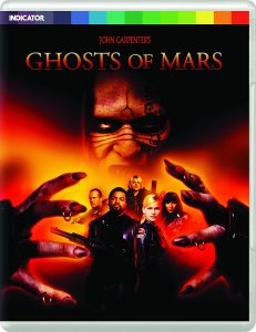 John Carpenter's Ghosts of Mars UK Blu-Ray
