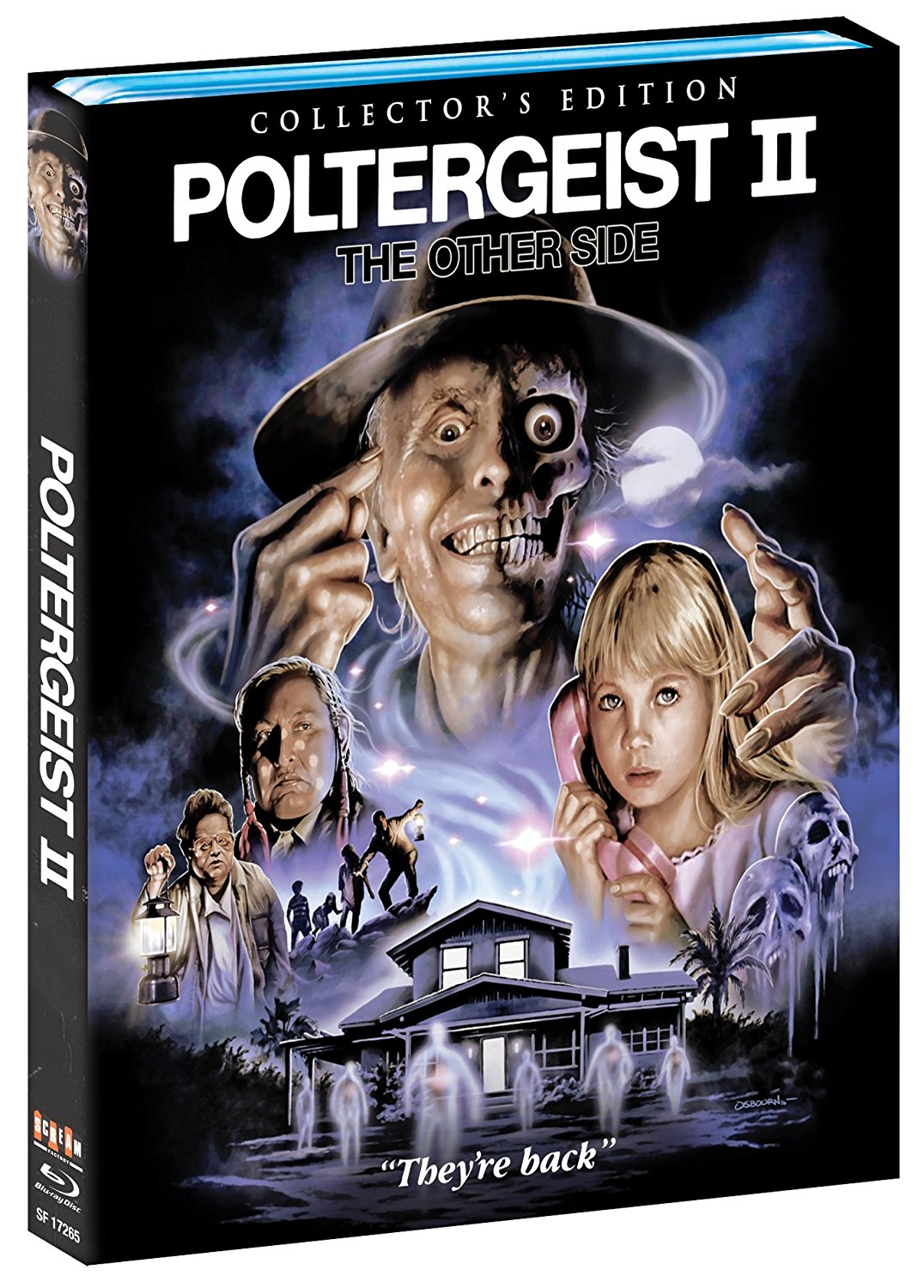 Poltergeist II The Other Side Blu-Ray