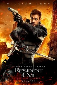 William Levy Resident Evil: The Final Chapter Poster