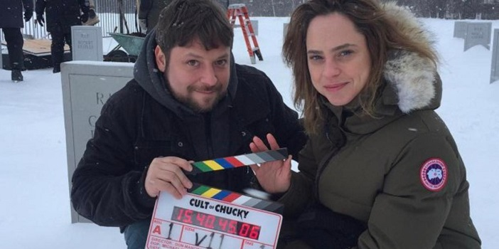 Don Mancini's 'Cult of Chucky' Filming Underway; First Art and Set Photos!