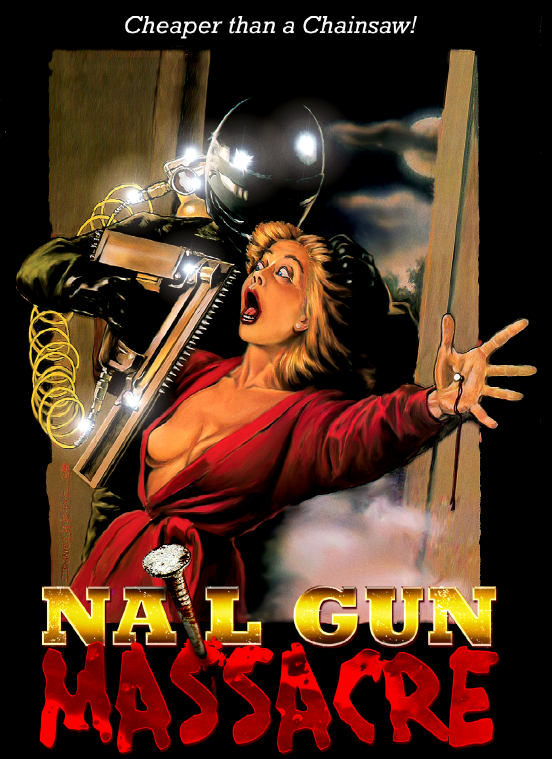 Nail Gun Massacre Art